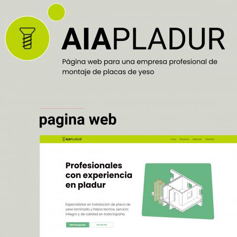 AIA PLADUR LOGO Y PAGINA WEB